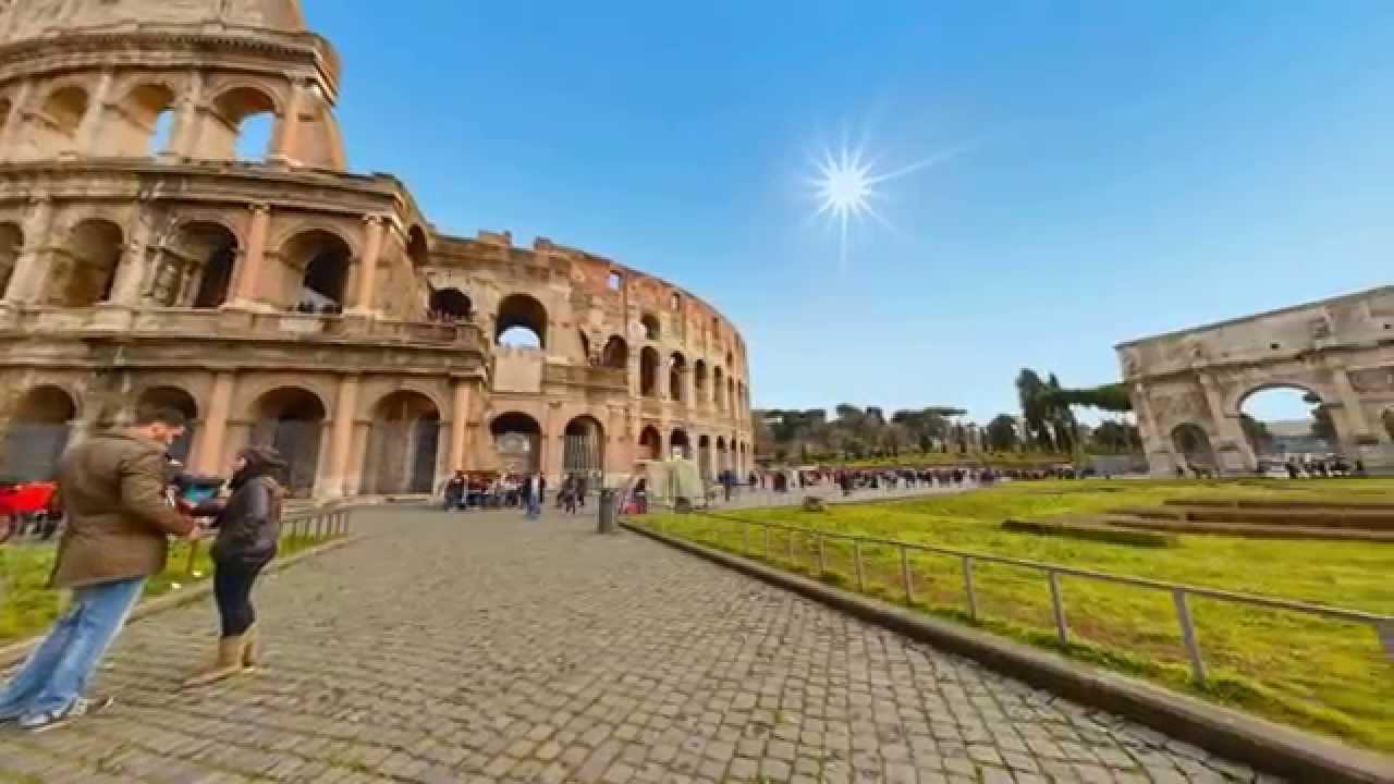 Colosseo - Roma | Italia Virtual Tour - YouTube