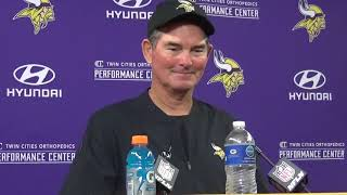 Mike Zimmer recaps good and bad from tie with Packers