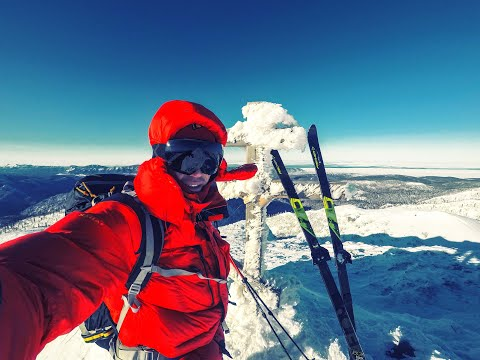 гора Дичун / Александровск-Сахалинский  2020 /  Ski Touring Russia / снаряжение для зимнего похода