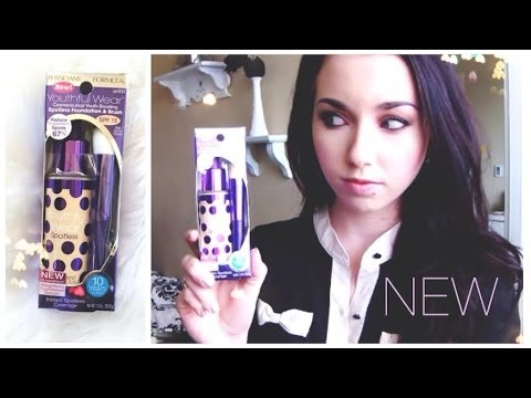 *NEW* Physicians Formula Youthful Wear Spotless Foundation | First Impression Review