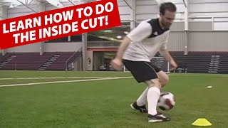 How To Do The Inside Cut Soccer Football Move