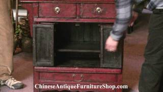 Chinese Antique Furniture Video #4 Antique Chest