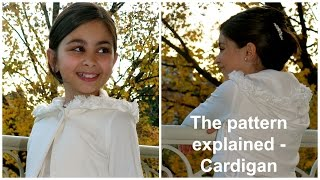 How to sew a Cardigan, Shrug or Jacket - Winter Wonderland Collection