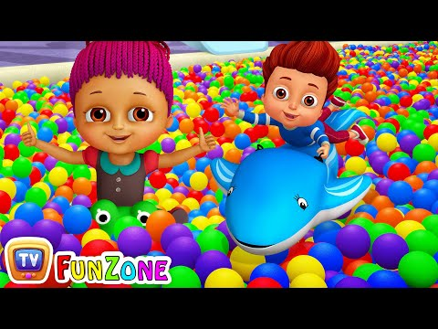 Thumbnail: Surprise Eggs Ball Pit Show for Kids to Learn ALL Colours | ChuChu TV Funzone 3D for Children