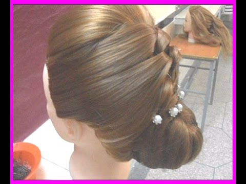 comment r aliser un chignon tress pour un mariage youtube. Black Bedroom Furniture Sets. Home Design Ideas