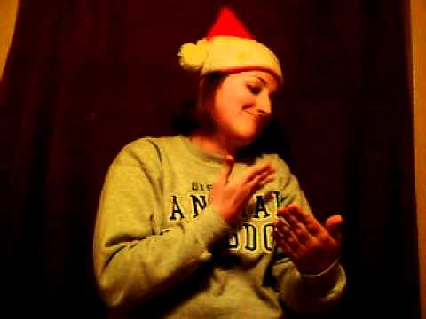 I'm Dreaming of a White Christmas by Garth Brooks (sign language)