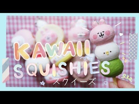 Kawaii Japanese Kanahei Squishy Unboxing ( かなヘイスクイーズ ) | Rainbowholic 🍡