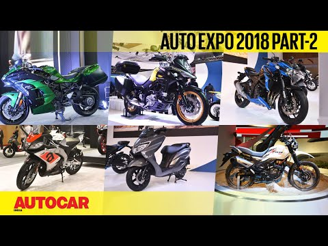 Auto Expo 2018 | Full Report - Part 2 - Bikes | Autocar India