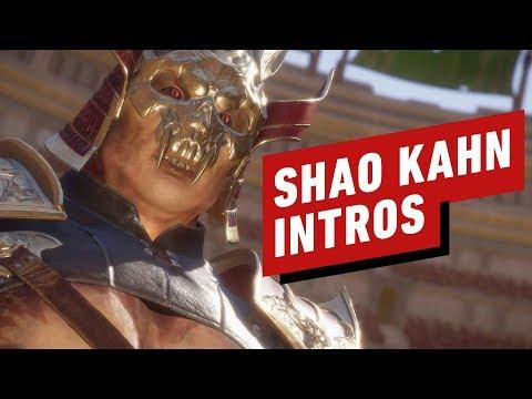 Mortal Kombat 11: The Best Shao Kahn Intros So Far