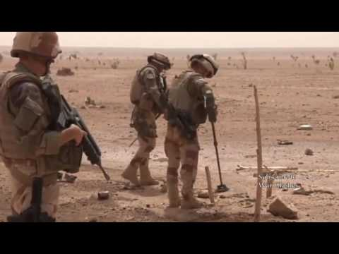 War | French Military Operation in Mali - Combat Footage (Operation Barkhane and Serval)