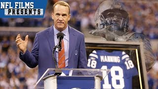 Peyton Manning Returns to Colts For Statue Unveiling & Jersey Retirement | NFL Films Presents