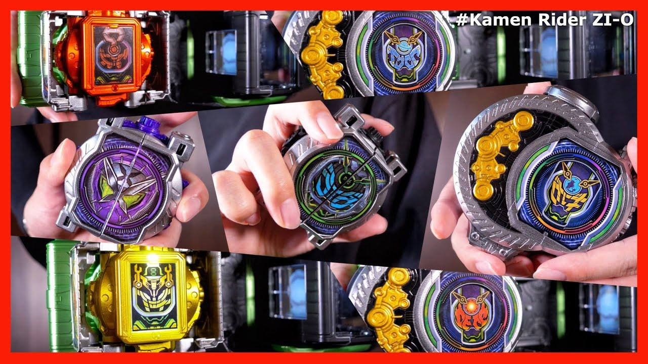 【祝う方】重塗装したウォズのミライドウォッチまとめ!っぽい動画【仮面ライダージオウ】/ Kamen Rider WOZ All Henshin!【Kamen Rider ZI-O】