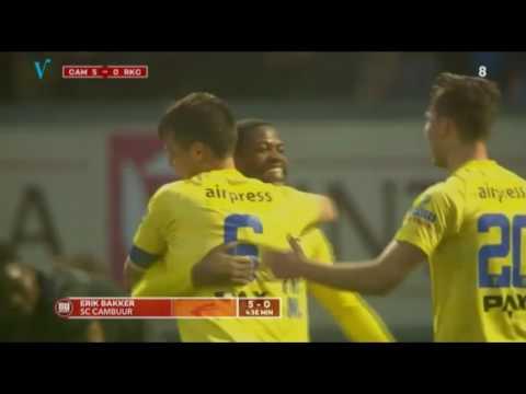 21-4-17 S.C. Cambuur - RKC Waalwijk: 5-0 Highlights + Interviews