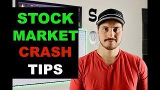 5 Stock Market Crash Tips