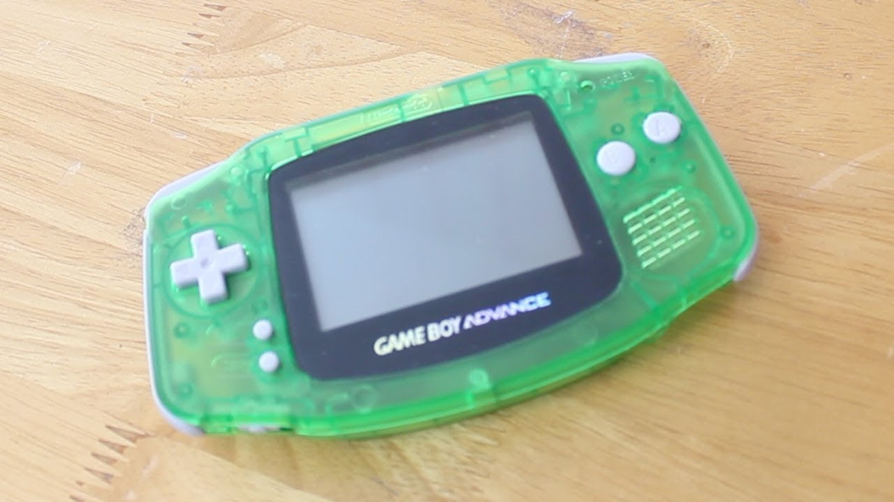 Game Boy Advance Backlight Screen Mod