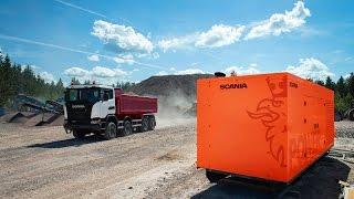 Дизельные электростанции c двигателями Scania -  «Power By Scania»!(Новый проект Scania, произведенный совместно с ООО «Компания Дизель». Мощность от 200-500 кВт! Электростанции..., 2016-02-24T06:15:48.000Z)