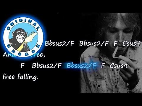 Tom Petty - Free Fallin\' - Chords & Lyrics - YouTube