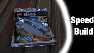 Lego Star Wars Magazine SW911724 A-Wing Speed Build