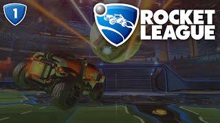 Rocket League - Początki zawsze są trudne.. :D #1