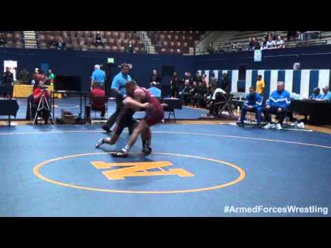59 kg - Aaron Kalil (Marines) vs. Randy Duncan (Air Force)