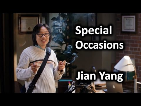 Jian Yang - Special Occasions