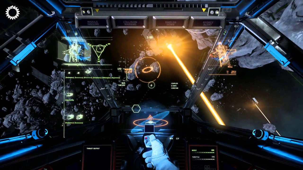 Asteroid Brawling - YouTube