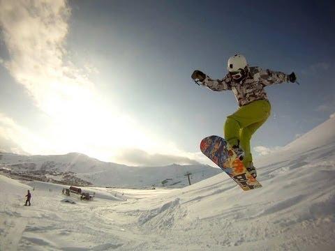 SNOWBOARDING freeride/freestyle GOPRO HD