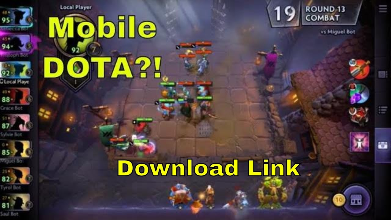 Dota Underlords gameplay: First Impression(Mobile Dota?!) & Download!