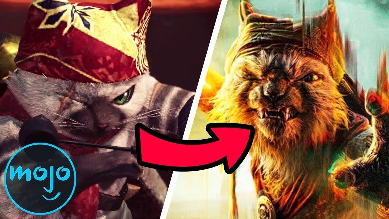 Top 10 Hidden Monster Hunter Video Game References