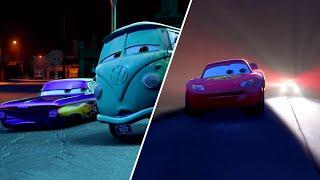 🚨 Chase Through Radiator Springs | Pixar Cars | Disney Junior UK