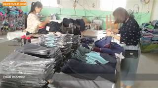 Board shorts factory quality inspection