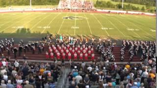 20150821 Bradley @ WVHS Marching In & Pregame
