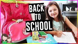 BACK TO SCHOOL 📚 Hausaufgaben & Schulranzen Tour 2018 - Alles Ava