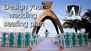 Wedding Seating Plan Template    Wedding Planning Video