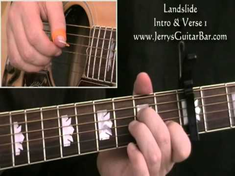 How To Play Fleetwood Mac Landslide Intro and Verse 1