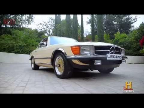Bob Marley 1980 Mercedes SL500 restored