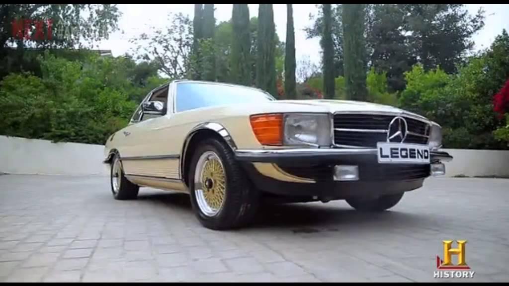 Bob Marley 1980 Mercedes SL500 restored - YouTube