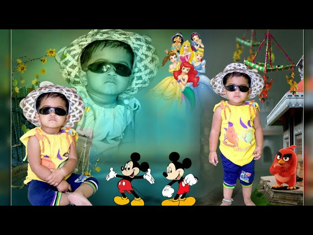 Very easy stylish photo editing by blend collage |  ??? ?????? ?????? ???? ??????? ???? ?? ?? ?????