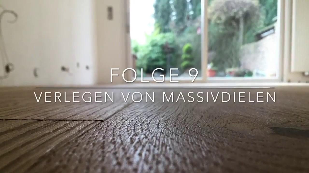 Fußboden Verlegen Bocholt ~ Verlegen von landhausdielen folge youtube