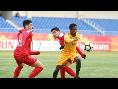 Video: U23 Australia vs U23 Syria