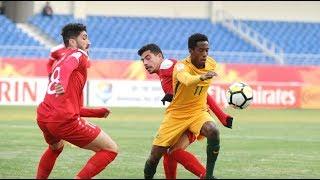 Video Gol Pertandingan Australia U-23 vs Suriah U-23