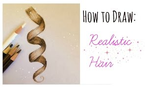 How to Draw Curly Hair!!