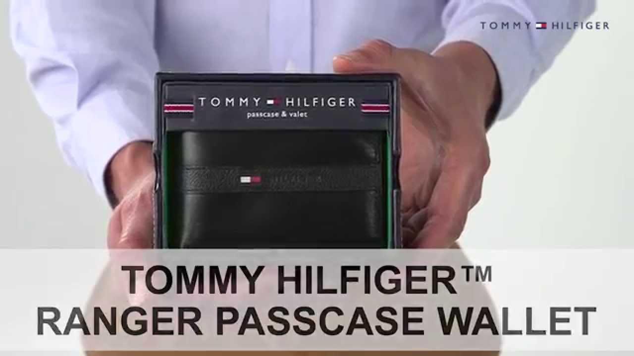 69d187899f6 Tommy Hilfiger Ranger Passcase Men's Wallet - YouTube