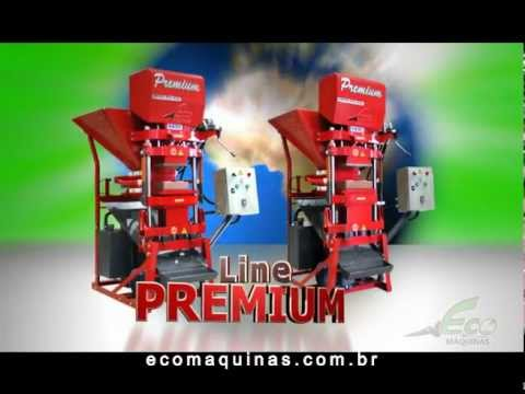 Machine or Press Ecological Bricks | Eco Premium Line