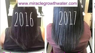 Miracle Growth Water CUSTOMER HAIR GROWTH PICTURES