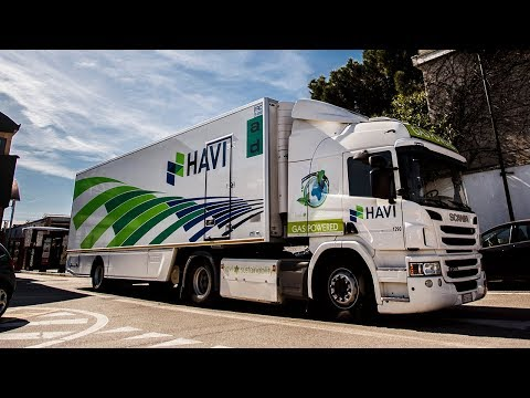 Scania and HAVI are addressing global climate goals