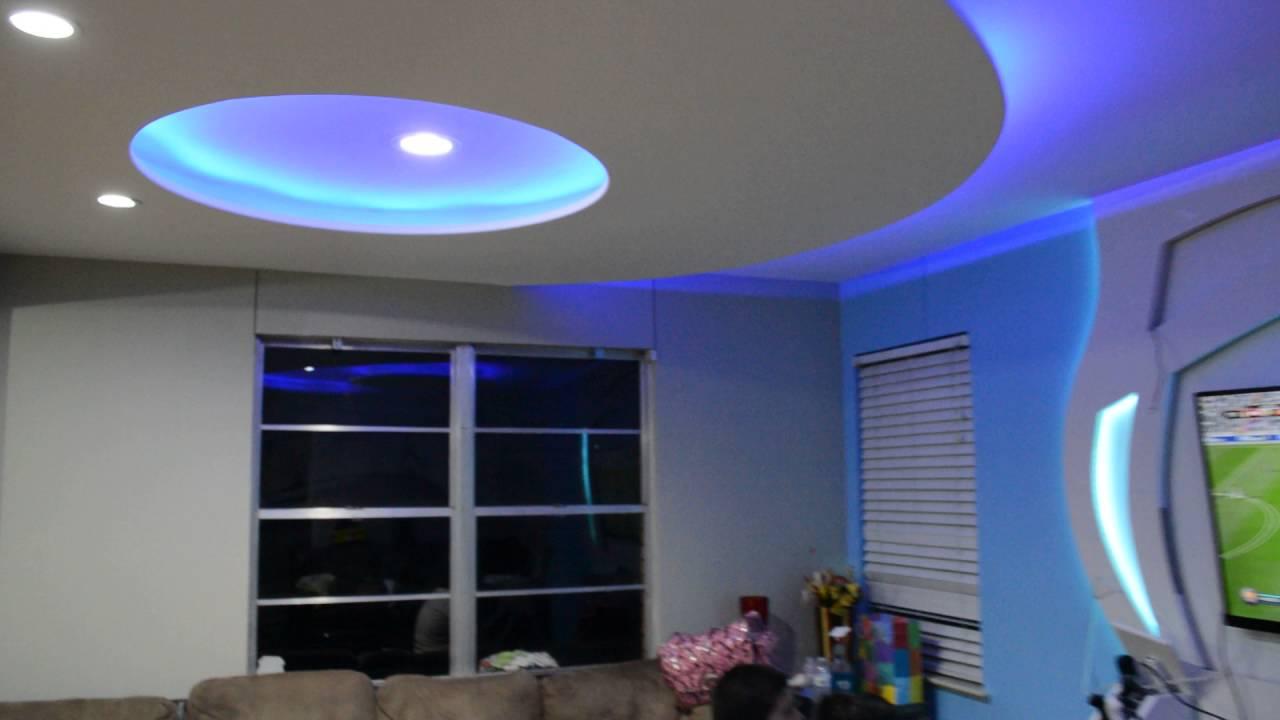 Living room remodelation. Adame Drywall Design. - YouTube