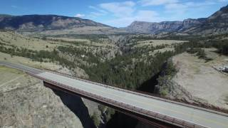 Sunlight Bridge Chief Joseph Highway Wyoming