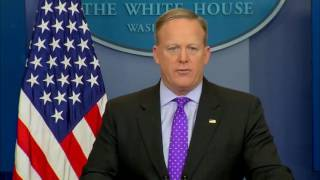 Sean Spicer White House Press Briefing 2/8/17