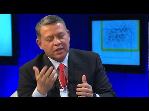 Davos Annual Meeting 2010 - Conversation with H.M. King Abdullah II Ibn Al Hussein